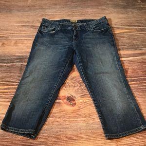 *3/$30* BKE Denim Cropped jeans Size 31